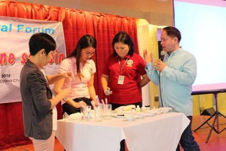PIA Northern Mindanao - Saktong Iodine sa Asin campaign in Misamis Occidental Ozamiz