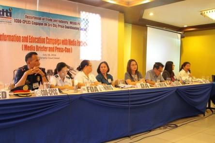 DTI Consumer Welfare Month presscon panel
