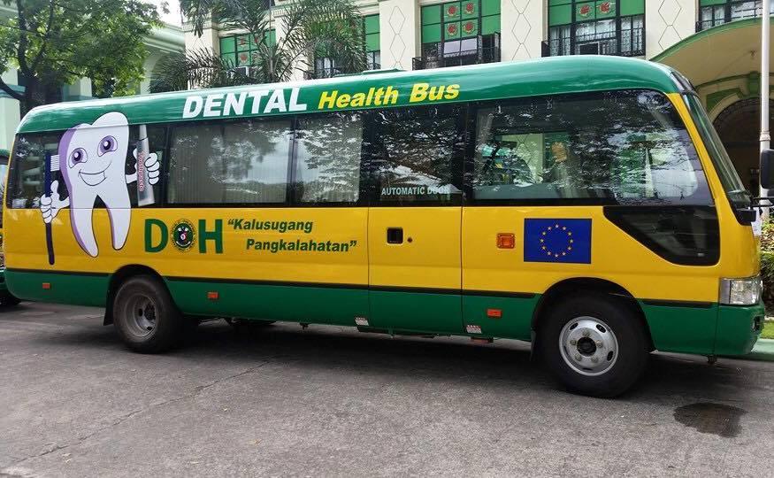 DOH donates dental health bus to Malaybalay govt | PIA