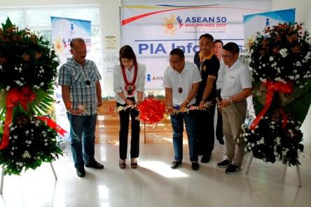 ASEAN Info Kiosk in Camiguin Seaport