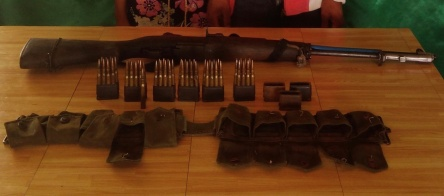 Firearms and ammunition surrendered in November 2017